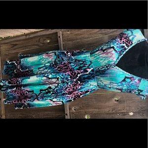 Vibrant Dress by a.n.a.  SZ M